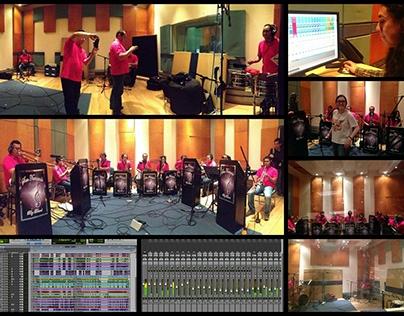 Big Band Orchestra Recording and Mixing