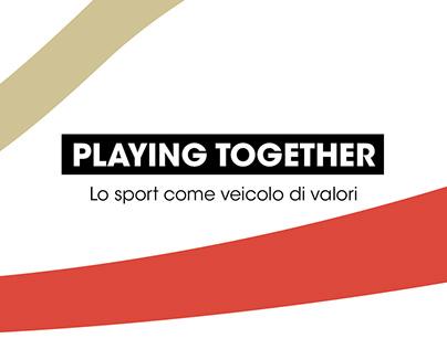 Playing Toghether – Lo sport come veicolo di valori