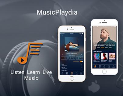 Music App - MusicPlaydia