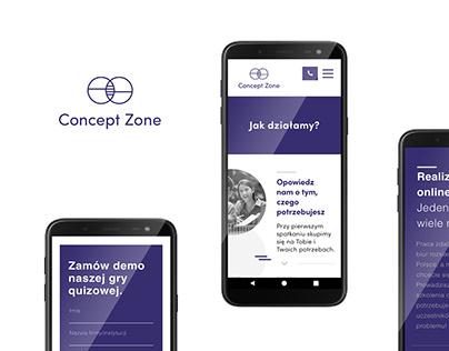 Concept Zone website