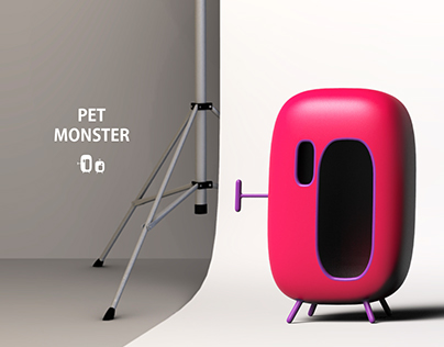 petmonster - smart house for pets