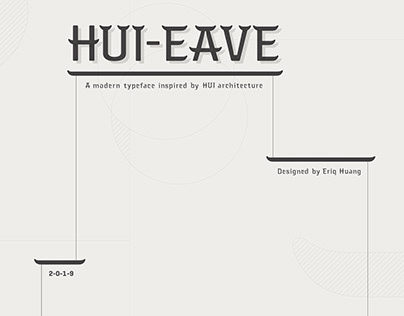 Typeface Design - Hui-Eave