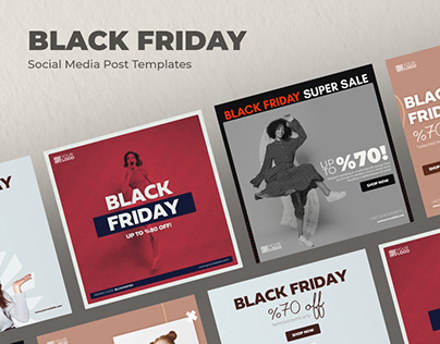 Black Friday - Social Media Post Templates