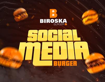 SOCIAL MEDIA: BURGER