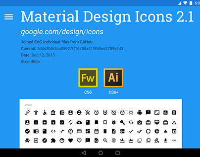 Google Material Design Icons 2.1 (AI, FW.PNG)