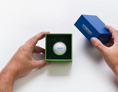 Convite para acompanhar torneio americano de golf