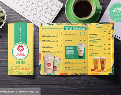 ORDER TAKE AWAY MENU - COFFEE TAKE AWAY DESIGN