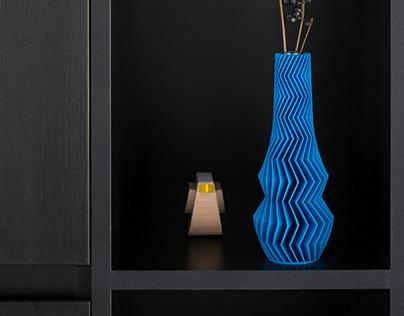 ZIGZAG 3D PRINTED VASES