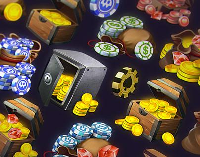 VOKR - Coins & Chips Generator