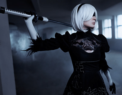 2B from Nier Automata