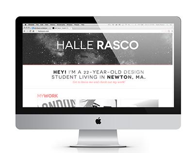 Halle Rasco Portfolio Website