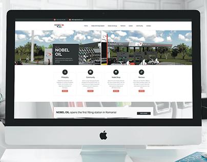 NOBEL OIL - WEB Design