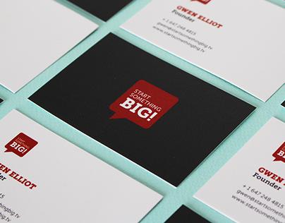 Start Something Big Brand Identity