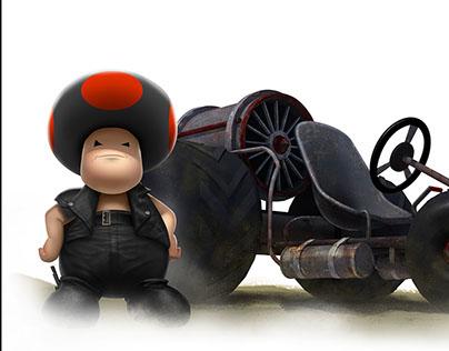 The Toad Warrior-iam8bit 10th Anniversary