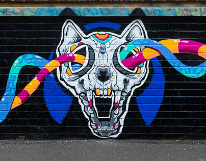 Fitzroy Art Collective mural