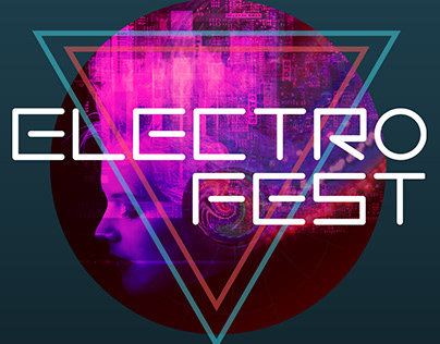 ELECTROFEST - Photoillustration and festival posters