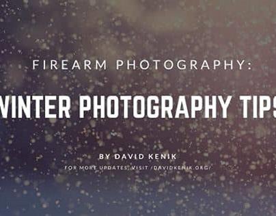 Winter Photography Tips | Blog Header