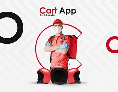 App Cart Social media
