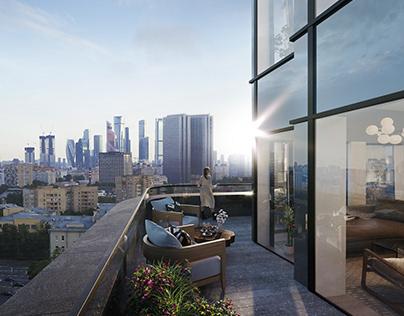 SLAVA Residential | Stunning Renderings for Group Dyer