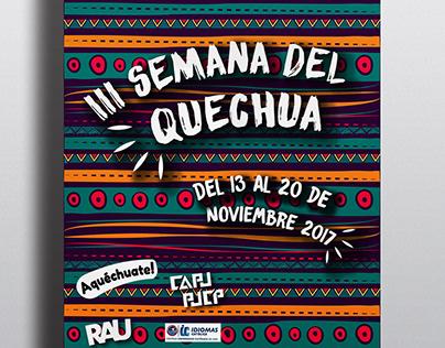 3ra semana del Quechua 2017
