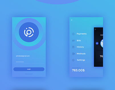 Payment App Design Template