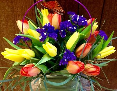 Pillsbury Florist Social Media, Email Content