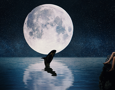 Moonlight - photo manipulation