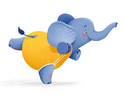 little elephant Bo