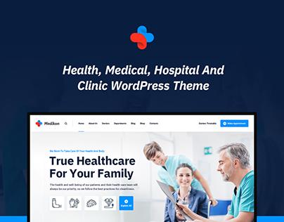 Medikon - Health & Medical WordPress Theme