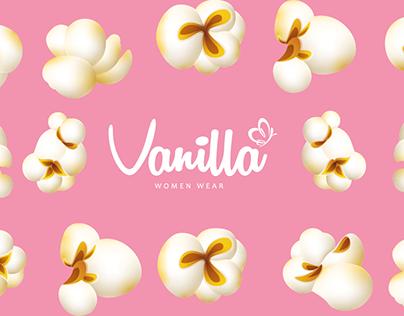 vanilla ( brochure,banner and popcorn car