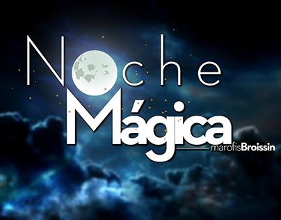 Noche Mágica Radio Show Logo Desing (MarFM)
