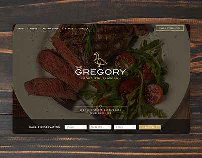 The Gregory | Website Design