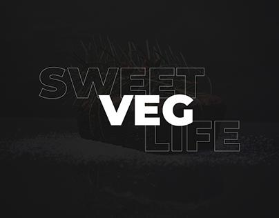 SweetVegLife. Разработка макета сайта для кондитерской