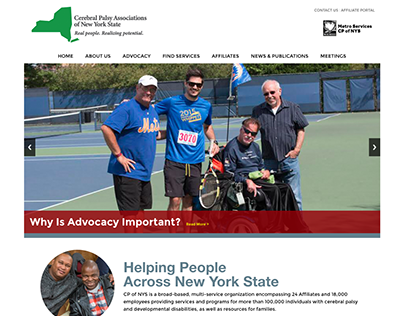 Cerebral Palsy Associations of New York State Website