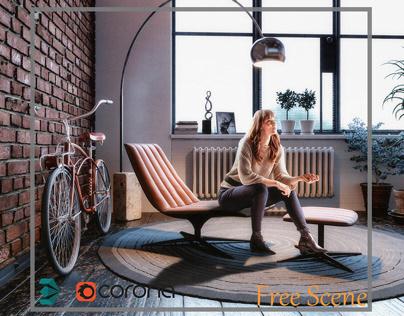 Reading Corner (Free scene)