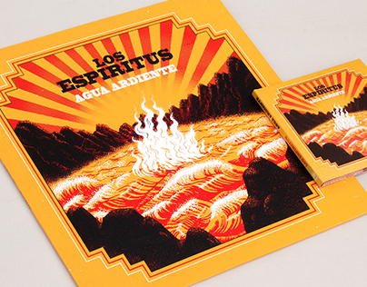 Los Espiritus, Agua Ardiente. album art
