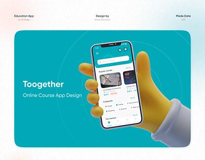 toogether.uz Online education app