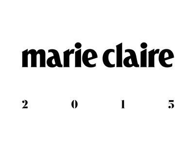 Art Direction & Design Marie Claire 2015