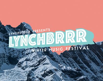 Lynchbrrr Music Festival 2015 Branding