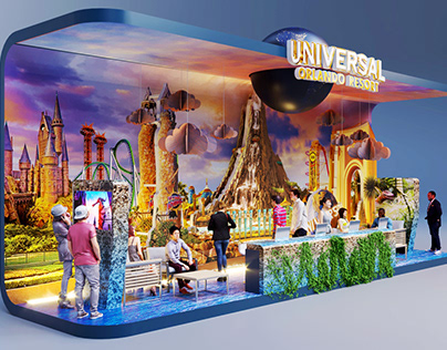 Stand Universal Orlando Resort