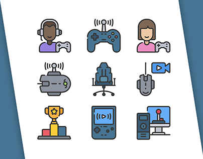 Game Streaming Icons!