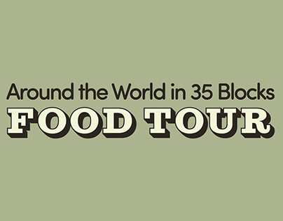 International Avenue BRZ: Around the World Food Tours