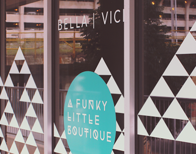 Bella Vici Window Signage