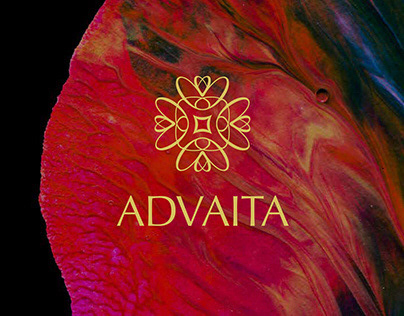 Branding and collateral for jewellery brand- Advaita