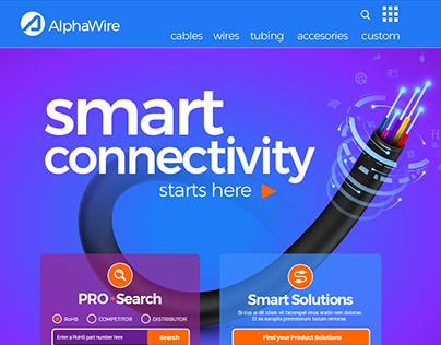 AlphaWire Web Portal