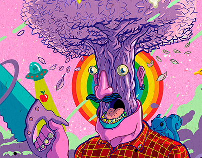 Trippy illustrations 2019