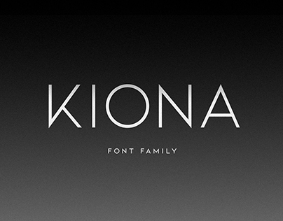 KIONA - Font Family (Free Download)