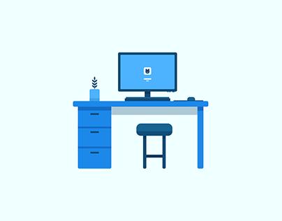 Dribbble: Workspace