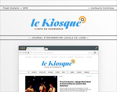 LE SAUMUR-KIOSQUE // Blog Redesign