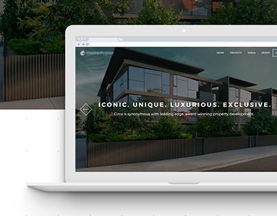 Property developer Website redesign